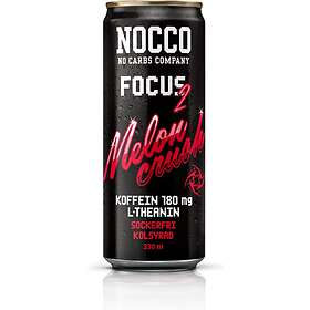 NOCCO Focus 330ml 12-pack