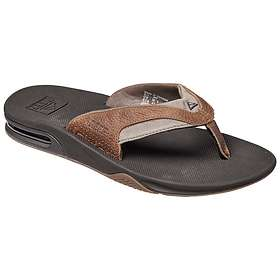 551eeb720c4 Find the best price on Reef Leather Fanning (Men s)