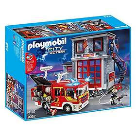 Playmobil City Action 9052 Station and Fire Truck