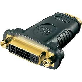 Deltaco HDMI - DVI-D Dual Link Adapter F-F