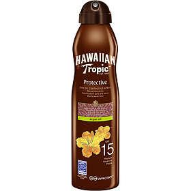 Hawaiian Tropic Protective Dry Oil Continuous Spray SPF15 180ml
