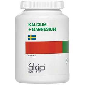 Skip Kalcium + Magnesium 100 Tabletter