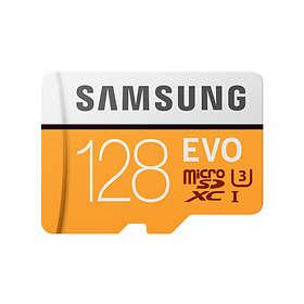 Samsung Evo MP128GA microSDXC Class 10 UHS-I U3 128GB
