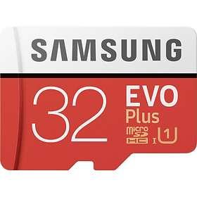 Samsung Evo+ MC32GA microSDHC Class 10 UHS-I U1 32GB