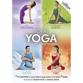 Total Yoga - The Complete 4 Disc Collection (UK)