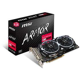 MSI Radeon RX 580 Armor OC 2xHDMI 2xDP 4GB