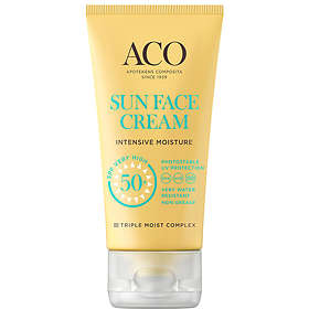 ACO Sun Face Cream Intensive Moisture SPF50+ 50ml