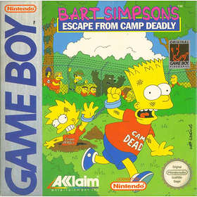 Bart Simpson's Escape from Camp Deadly (GB)