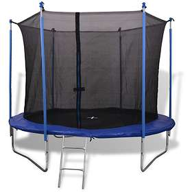 vidaXL Five Piece Trampoline with Safety Net 305cm