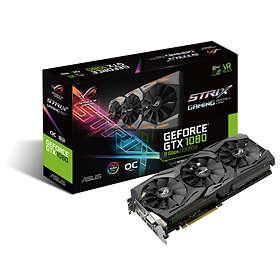 Asus GeForce GTX 1080 Strix Gaming 11Gbps OC 2xHDMI 2xDP 8GB