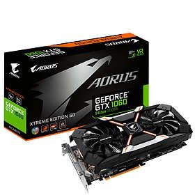 Aorus GeForce GTX 1060 Xtreme Edition 9Gbps HDMI 3xDP 6GB