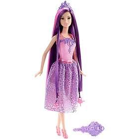 Barbie Endless Hair Kingdom Princess Doll - Purple Hair DKB59
