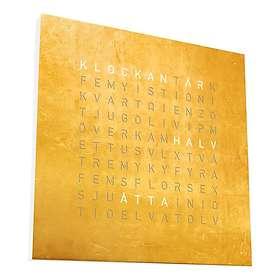 Qlocktwo Classic Creator's Edition Gold