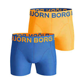 Björn Borg Neon Solids Shorts 2-Pack