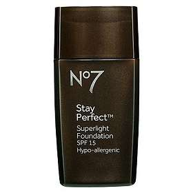 Boots No7 Stay Perfect Superlight Foundation SPF15 30ml