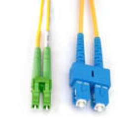 MicroConnect Singlemode 9/125 LC/UPC - SC/APC 1m