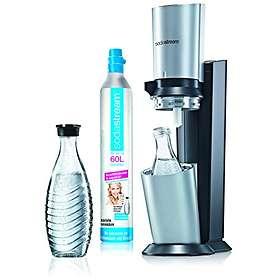 SodaStream Crystal (ml. patron & 2x0,6L flaskor)