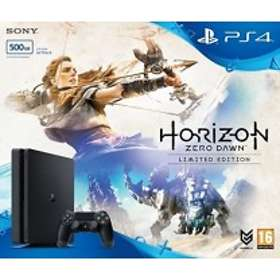 Sony PlayStation 4 Slim 500GB (incl. Horizon Zero Dawn - Limited Edition)