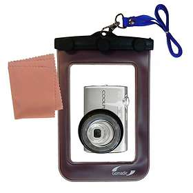 Gomadic Waterproof Camera Case for Nikon Coolpix S220