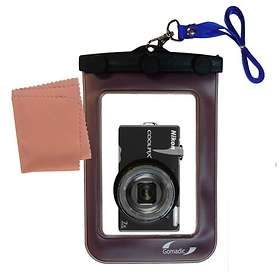 Gomadic Waterproof Camera Case for Nikon Coolpix S6000