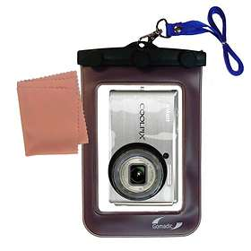 Gomadic Waterproof Camera Case for Nikon Coolpix S610C