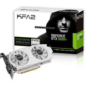 Galax/KFA2 GeForce GTX 1050 Ti EXOC White HDMI DP 2xDVI 4Go