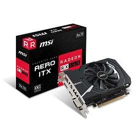 MSI Radeon RX 560 Aero ITX OC HDMI DP 4Go