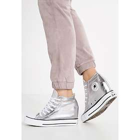 87e5dcdfe13 Converse Chuck Taylor All Star Lux Wedge Metallic Canvas Mid (Women s)