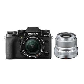 Fujifilm X-T2 + 18-55/2,8-4,0 OIS + 23/2,0 R WR
