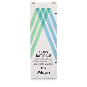 Alcon Natural Tears Eye Drops 15ml