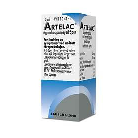 Bausch & Lomb Artelac Eye Drops 10ml