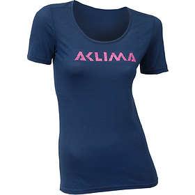 Aclima LightWool Logo SS Shirt (Dame)