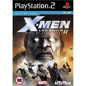 X Men Legends II Rise Of Apocalypse PS2
