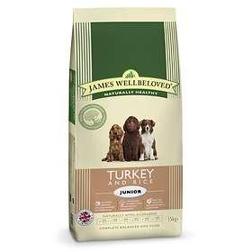James Wellbeloved Dog Junior Turkey & Rice 15kg
