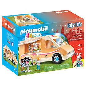 Playmobil City Life 9114 Camion de Crème Glacée