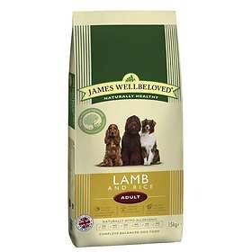 James Wellbeloved Dog Adult Lamb & Rice 15kg
