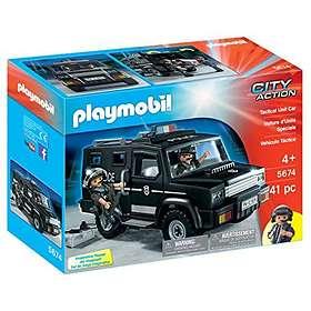 Playmobil City Action 5674 Le fourgon de Police