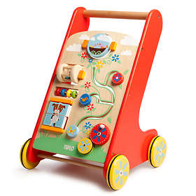 Tidlo Baby Walker with Blocks ABC