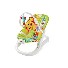 Fisher-Price Rainforest Friends Fun 'n Fold Baby Bouncer