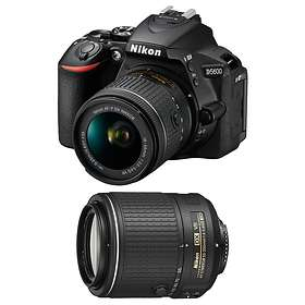 Nikon D5600 + AF-P 18-55/3 5-5 6 VR + 55-200/4 0-5 6 VR II