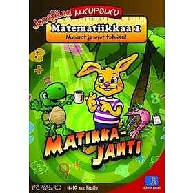 Alkupolku Matematiikkaa 1 - Matikkajahti - Numerot Ja Luvut Tutu (Mac)