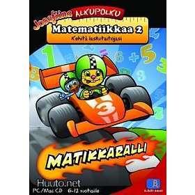 Alkupolku Matematiikkaa 2 - Matikkaralli - Kehitä Laskutaitojasi (Mac)