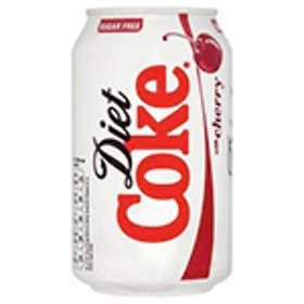 Coca-Cola Diet Coke with Cherry Burk 0,33l