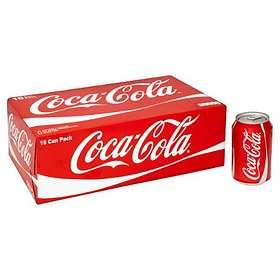 Coca-Cola Burk 0,33l 15-pack