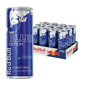 Red Bull Blue Edition Burk 0,25l 12-pack