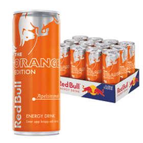 Red Bull Orange Edition Burk 0,25l 12-pack