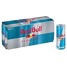 Red Bull Sugar Free Burk 0,25l 12-pack