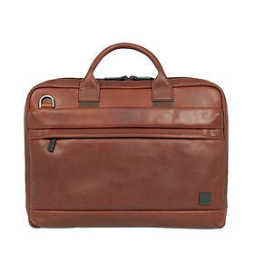 Knomo Foster Leather Laptop Briefcase 14""