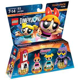 LEGO Dimensions 71346 Powerpuff Girls Team Pack