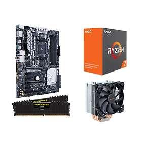 Inet Uppgraderingspaket AMD Ryzen 7 - 3,4GHz OC 16GB